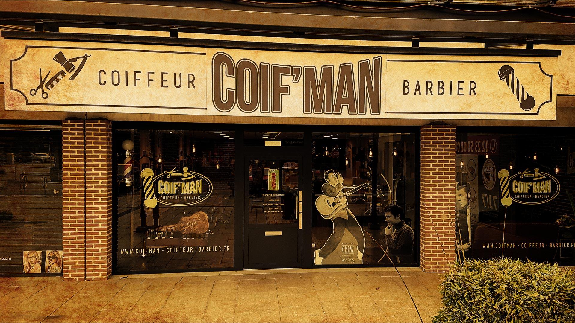 Coifman Barbershop à Bruz Cheveux Barbe Hommes