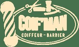 Logo du salon de coiffure Coif'Man à Bruz